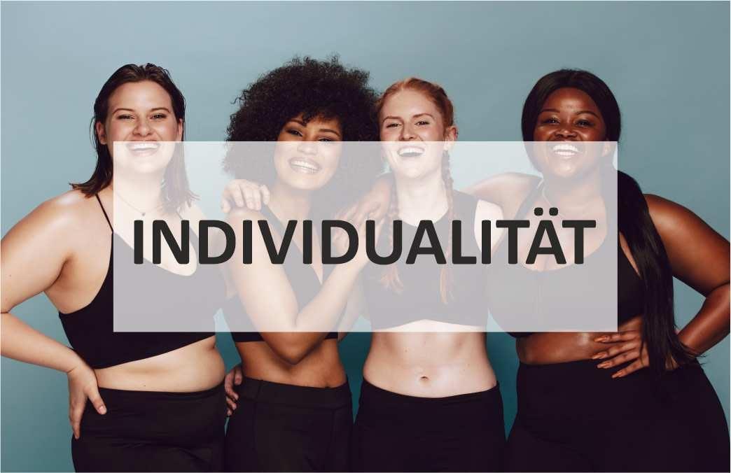 Individualität in der Trainingsplanung, Verschiedene Körperformen, Frauen sportlich