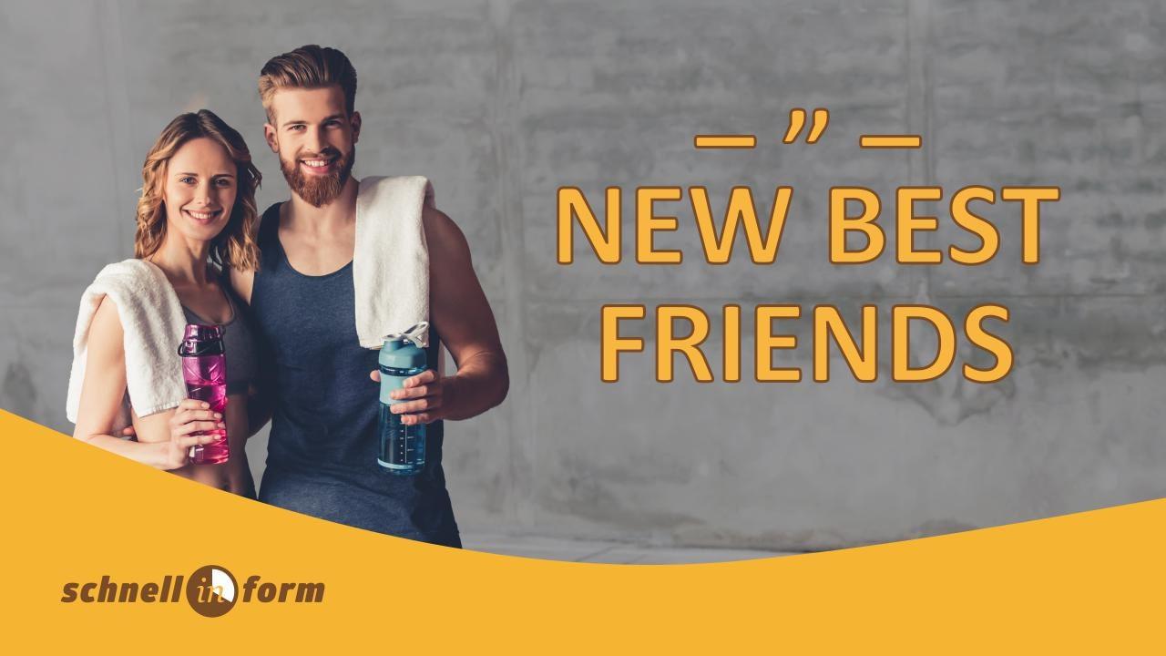 Aktion - Freunde - Fitness - Friends