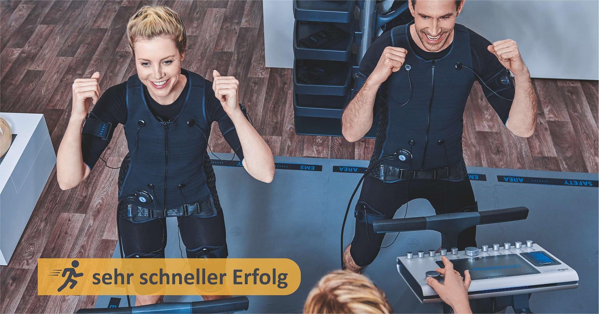 sehr schneller Erfolg mit EMS Training von Miha Bodytec